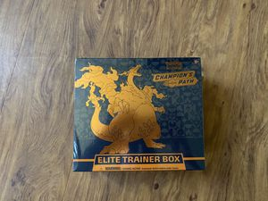 Pokemon Champions Path Elite Trainer Box  Factory Sealed for Sale in Katy, TX
