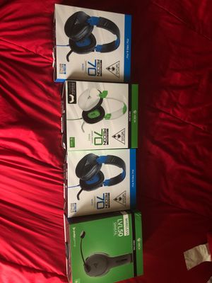 ps4 and Xbox one headsets for Sale in Kissimmee, FL