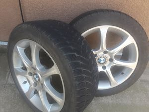 BMW rims and tires for Sale in Modesto, CA