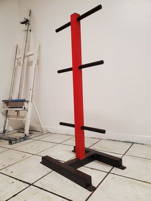 Weight tree weight plates gym equipment for Sale in Miami, FL
