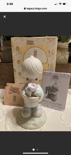 "Precious Moment Porcelain 1990 ""To A Special Mum"" Figurine for Sale in Danville, CA"