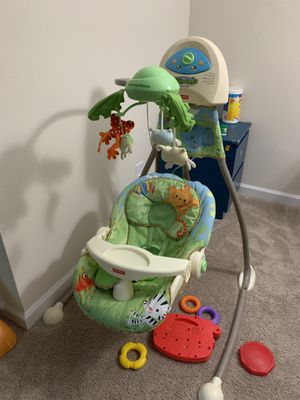 Fisher price electrical swing for Sale in Herndon, VA