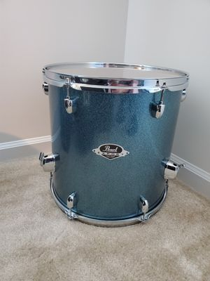 Pearl export series 14 inch floor Tom blue with legs for Sale in Holly Springs, NC