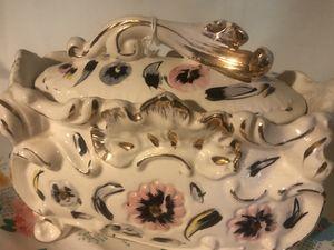 Floral Dresser Box Vintage Antique + for Sale in Cincinnati, OH