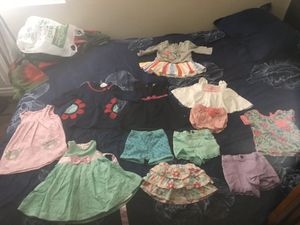 Girl baby clothes/ outfit dress set 6 to 9 months and 9 to 12 months for Sale in Las Vegas, NV