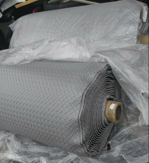 New 4ft by 10ft heavy rubber diamond plate matting for Sale in Kingsport, TN