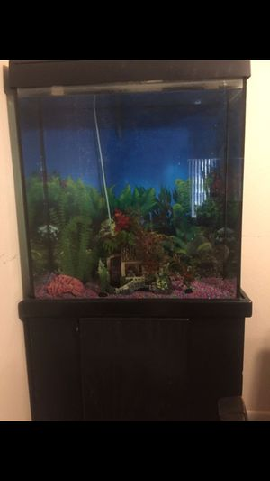 Fish tank with stand for Sale in Westminster, CA