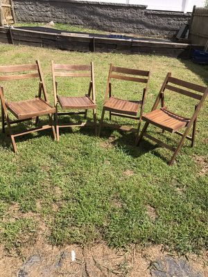 Mid Century Modern Antique Folding Chairs for Sale in Boston, MA