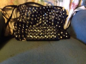 Real black leather purse and matching wallet for Sale in Holdrege, NE