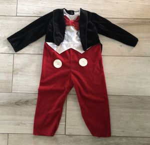 Mickey Mouse Kids Halloween Costume for Sale in Boca Raton, FL