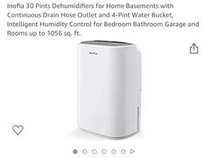 Dehumidifier Inofia for Sale in San Diego, CA