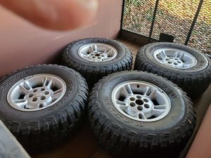 4 tires with rims for Sale in Camas, WA