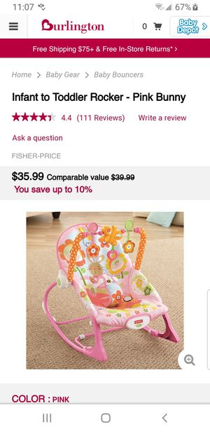 Bouncer for babies for Sale in Pasadena, TX