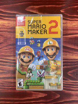 Nintendo Switch Super Mario Maker 2 for Sale in Chicago, IL