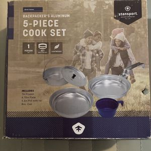 Camping/ Scouting Gear Stan sport 5 Piece Cook Set for Sale in Virginia Beach, VA