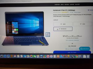 Notebook 9 used for Sale in San Francisco, CA