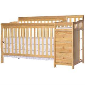 Convertible Crib With Changing Table for Sale in Baltimore, MD