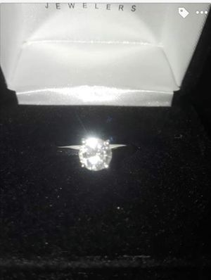 Solitaire Engagement wedding or promise ring .75 ct 14k white gold ring from Kay's for Sale in Santa Cruz, CA