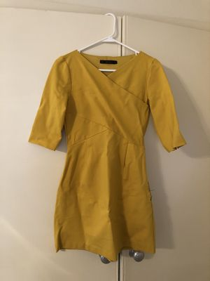 Yellow dress for Sale in Arlington, VA