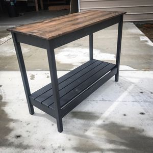 Wood Console/Couch/Entry Table for Sale in Madera, CA
