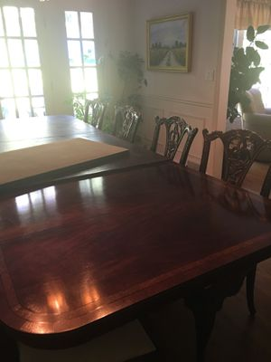 Dinning Room set & 8 Chairs for Sale in Norwalk, CT