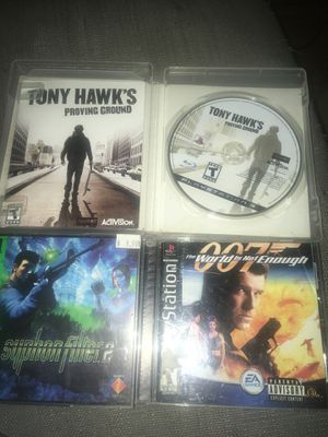 PS3/PS1 game bundle for Sale in Los Angeles, CA