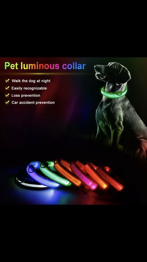 LED pet collar for Sale in Monterey Park, CA