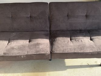 Black futon Couch for Sale in Diamond Bar,  CA