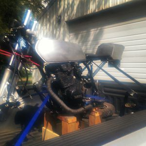 1979 Yamaha XS400 cafe racer for Sale in Puyallup, WA
