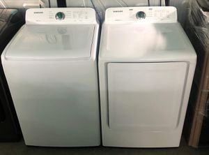New Samsung washer and dryer Washer 4.5 dryer 7.5 for Sale in Montclair, CA