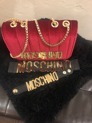 Designer red Velvet handbag for Sale in Washington, DC