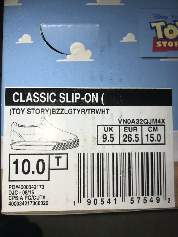96788c5d010 Toddler Vans size  10 for Sale in Twentynine Palms
