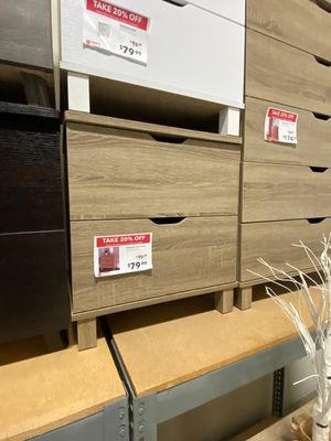 Nightstand, Dark Taupe for Sale in Downey, CA