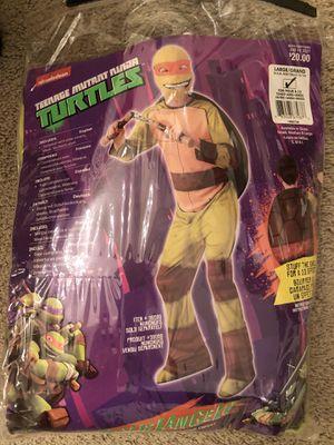 Brand new boys size large Teenage Mutant Ninja Turtle Costume for Sale in Snohomish, WA