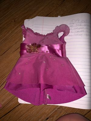 American Girl Doll purple dress for Sale in Haines City, FL