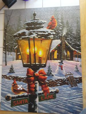 549 pc Christmas puzzle for Sale in Rock Island, IL