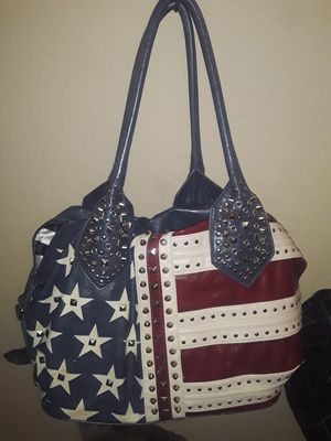 Charming charlie USA stars flag bag for Sale in Citrus Heights, CA