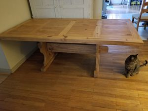 Wood Dining Table and Chairs for Sale in Phoenix, AZ