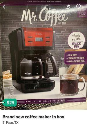 Mr coffee maker for Sale in El Paso, TX