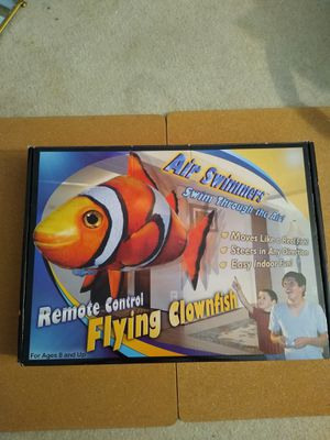 Helium remote control flying fish for Sale in Richardson, TX
