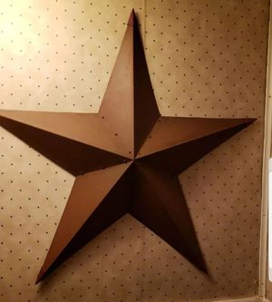 3 foot Rustic barn star for Sale in Farmville, VA