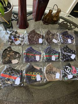 Adults Face Masks 3 Layered Protection, Washable, Comfortable And Breathable for Sale in Elk Grove, CA