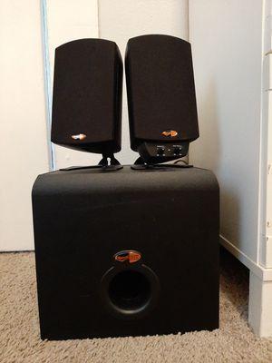 Klipsch ProMedia THX 2.1 Speaker System w/ Subwoofer for Sale in Renton, WA