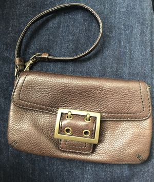 Banana Republic Brown Leather Wristlet - New for Sale in Daly City, CA