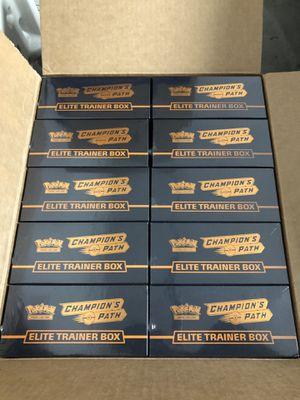 Pokemon Champion's Path Elite Trainer Box for Sale in South San Francisco, CA