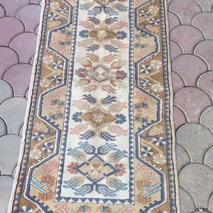 Hand Made Turkish Rug 3ft by 6ft (pure wool runner) for Sale in Tavares, FL
