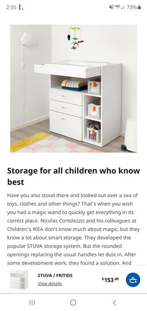 IKEA STUVA CHANGING TABLE for Sale in Los Angeles, CA