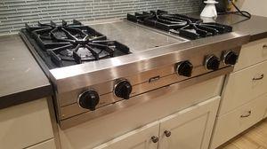 """Viking 36"""" range top, 4 burner w/ griddle for Sale in Phoenix, AZ"""