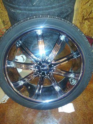 24' Rims an Tires for Sale in Baton Rouge, LA
