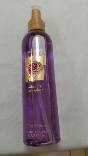 Victoria's Secret 8 fl.oz. Body Splash fragrance Romantic Wish silkening Body Splash $21.99, $18.99; $15 new. for Sale in San Diego, CA